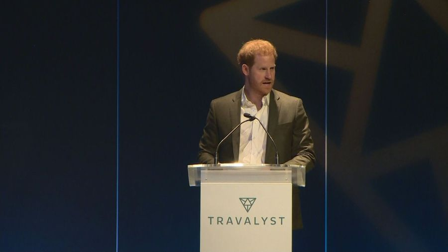 Duke of Sussex introduced on stage as just Harry