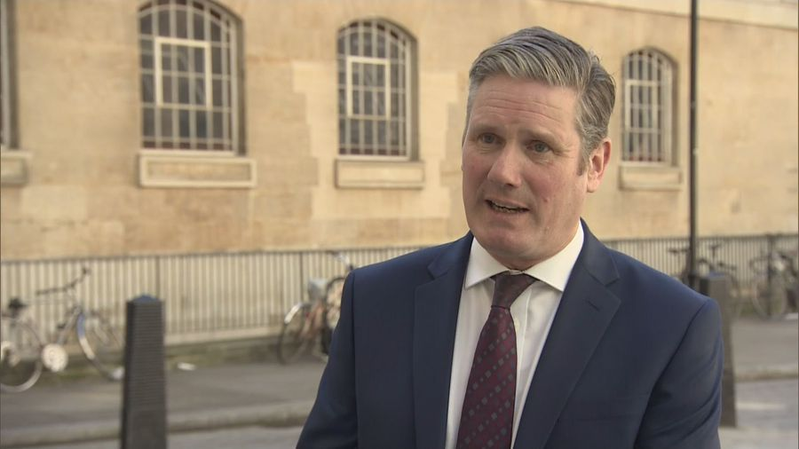 Starmer won't use COVID-19 to 'score party political points'