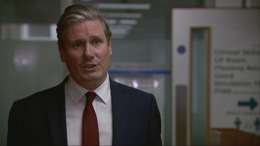 Starmer supports govt's action on Hong Kong security law