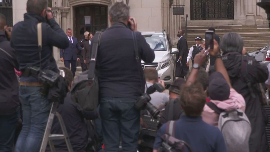 Johnny Depp departs court on fourth day of trial