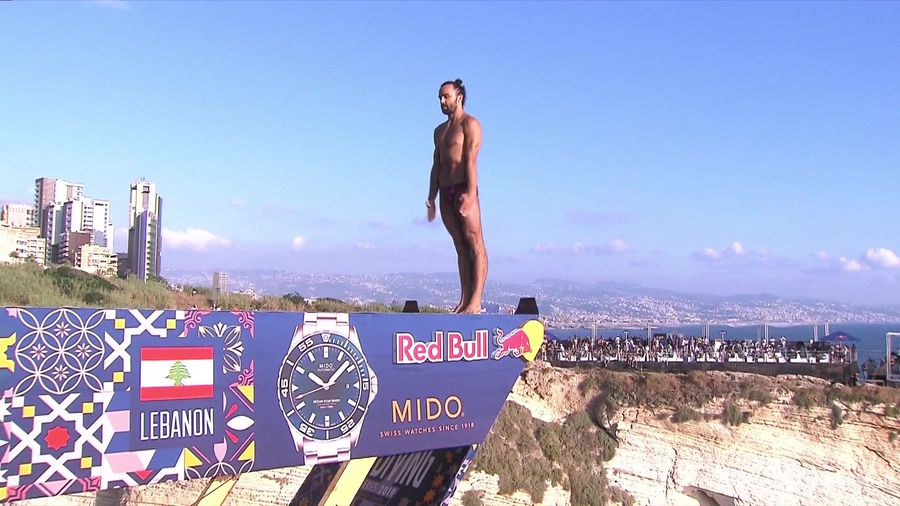 Highlights from stage 5 of Red Bull Cliff Diving