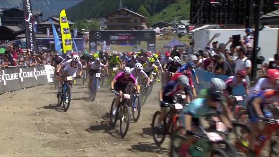 HIghlights from stage 7 of UCI World Cup