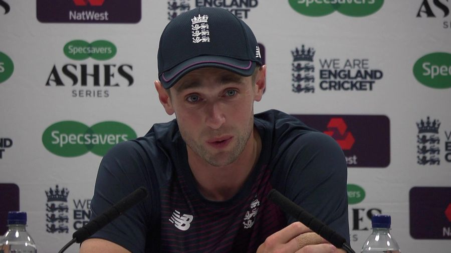 Chris Woakes reaction
