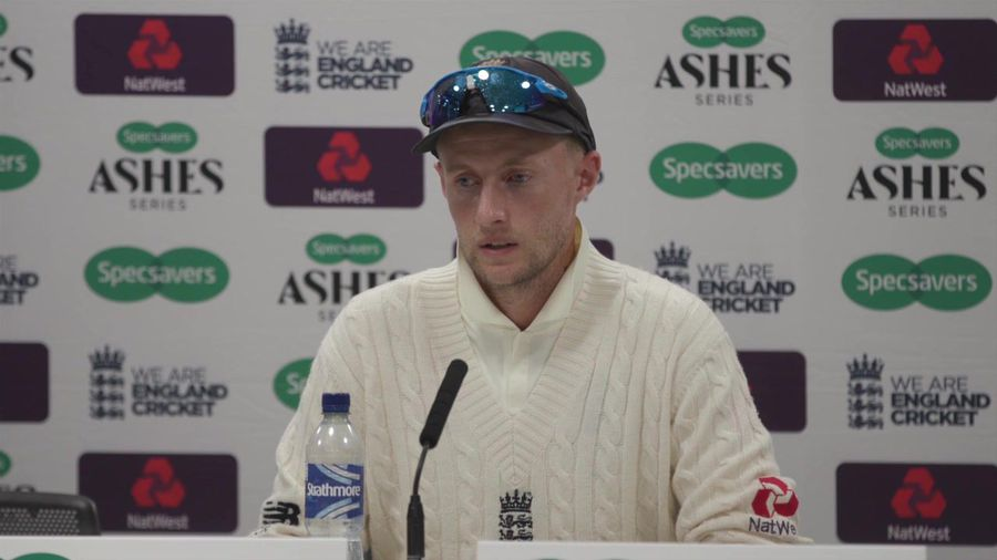 England's Joe Root post Second Ashes Test