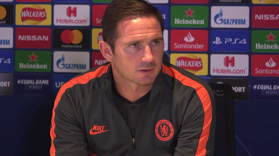"""Lampard """"tough group now tougher but only one game"""