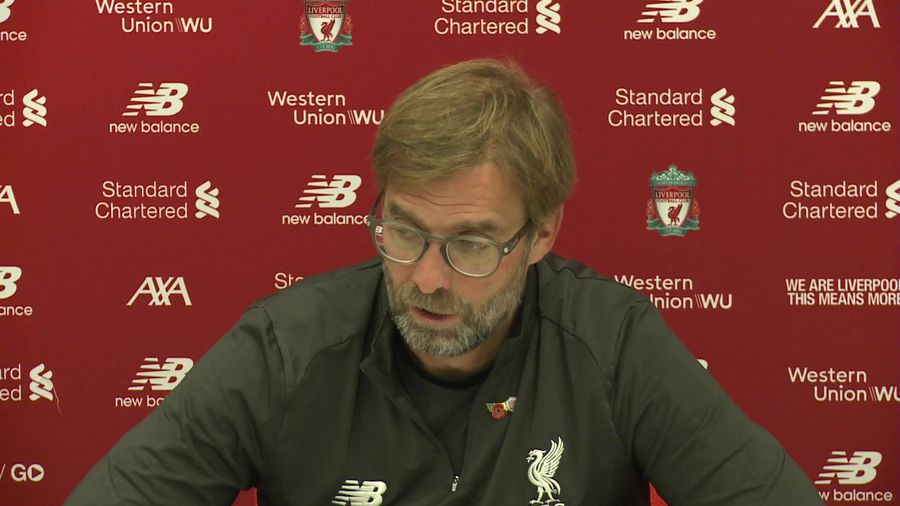 Klopp's Liverpool injury update