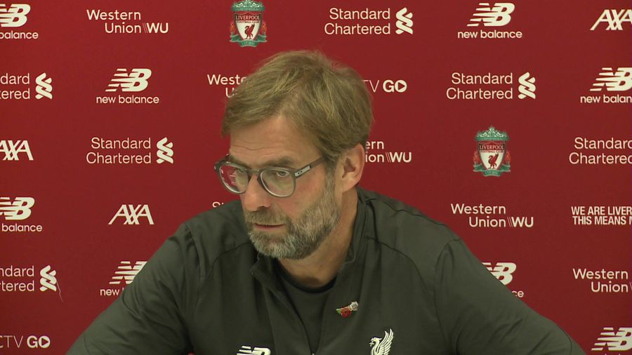 Impressed how City have dealt with issues - Klopp