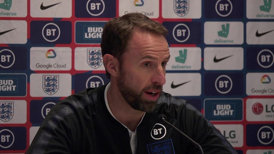 Southgate on wanting a high energy performance & p