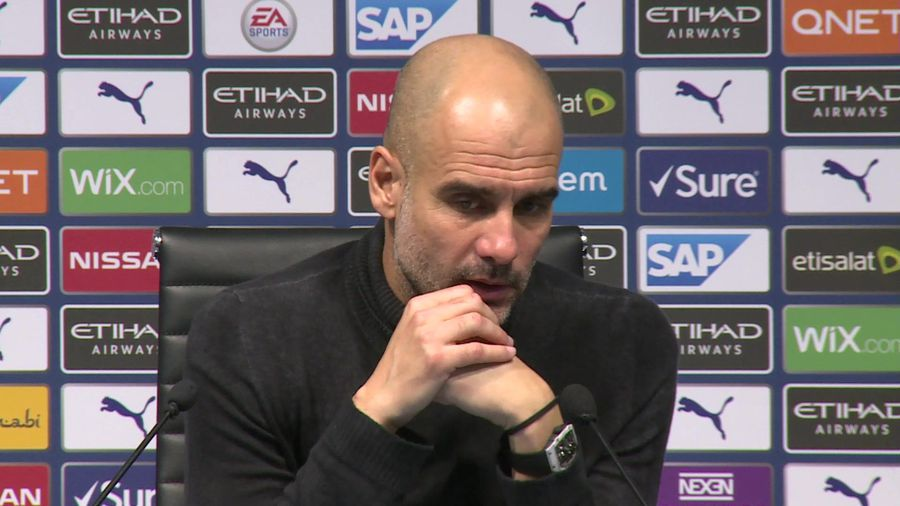 Maybe can't compete with top teams - Pep