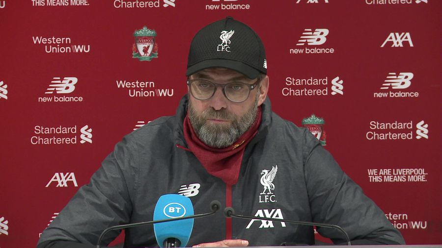 Have to show resilience this time of year - Klopp