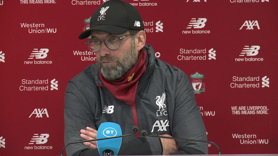 People watch us suffer but nobody cares - Klopp
