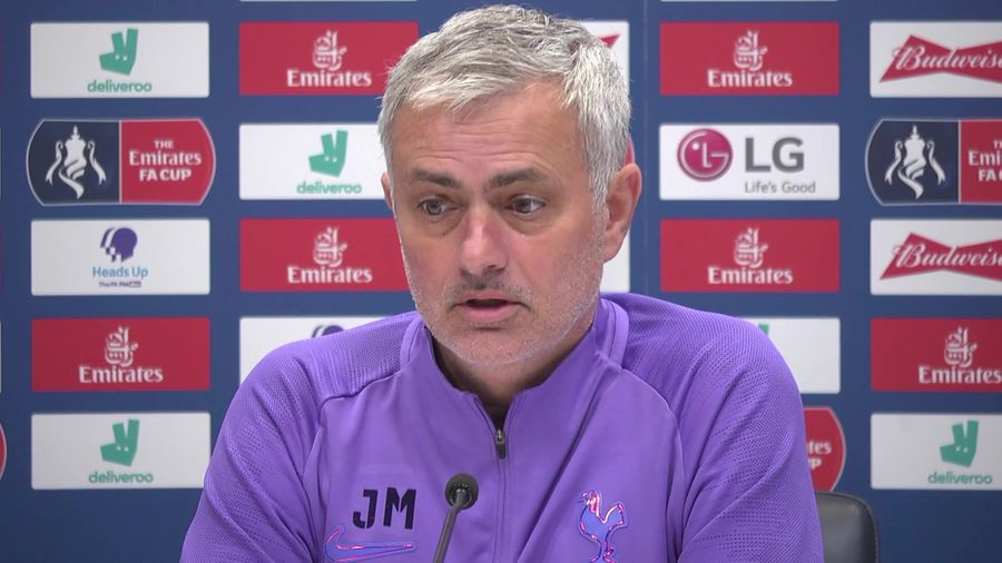 Jose Mourinho on how he wanted to play before inju