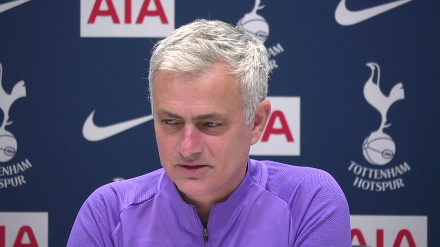 """Jose mourinho """"we are optimistic, we are playing w"""