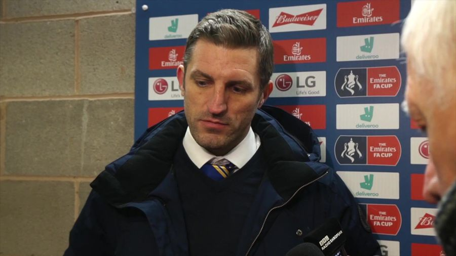Obviously delighted with draw - Ricketts