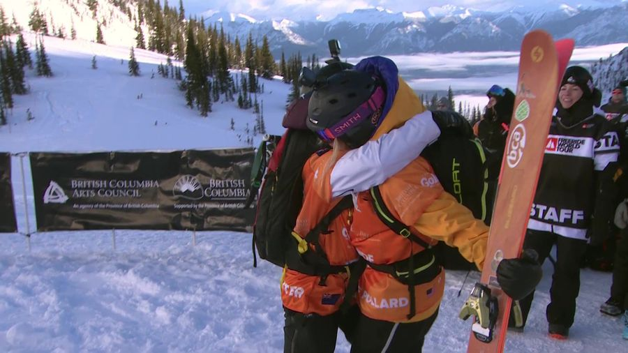 Highlights of stage 2 of Freeride World Tour