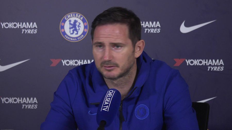 Lampard on not focusing on Mourinho but how his te