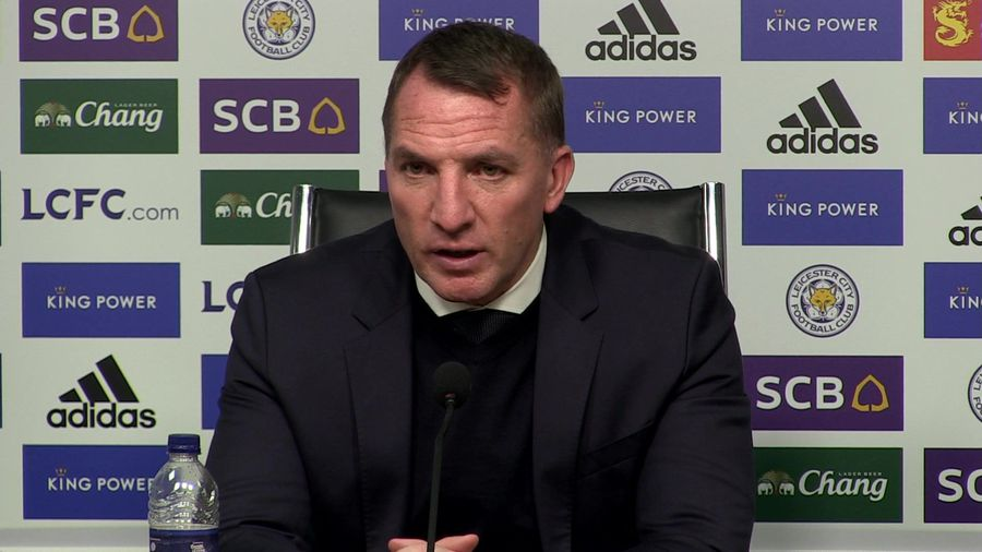 Our penalty claim looked clear - Rodgers