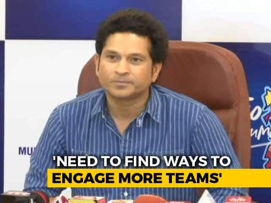 We Need To Find Ways To Engage More Teams In World Cup, Says Sachin Tendulkar