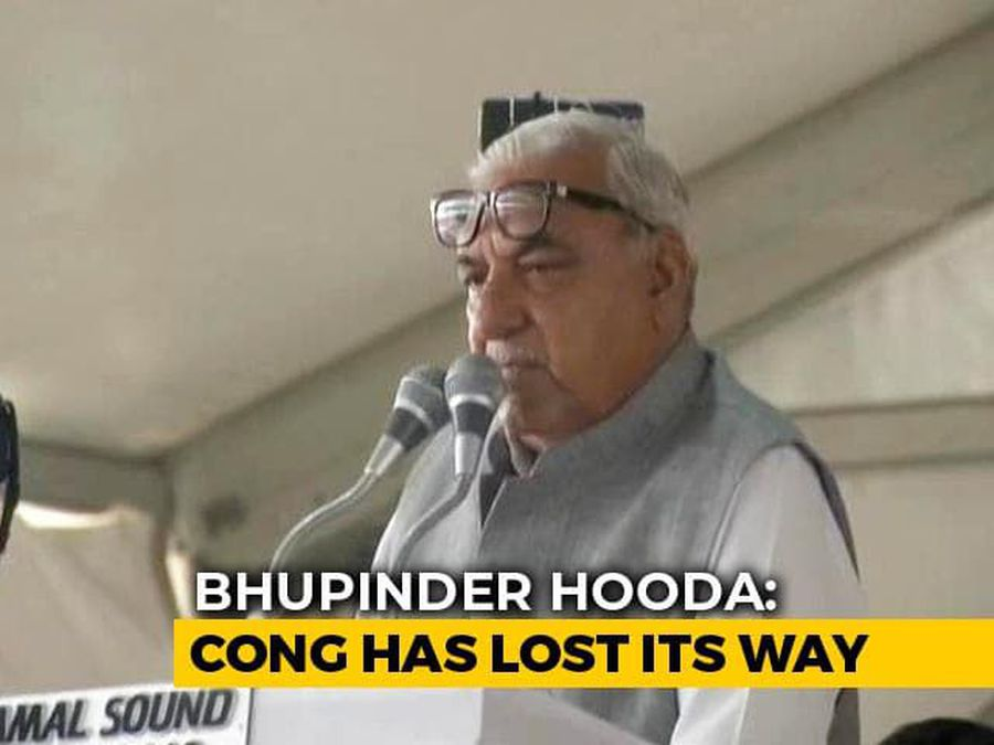 At Poll Meet, Congress's Bhupinder Hooda Supports BJP's Kashmir Move