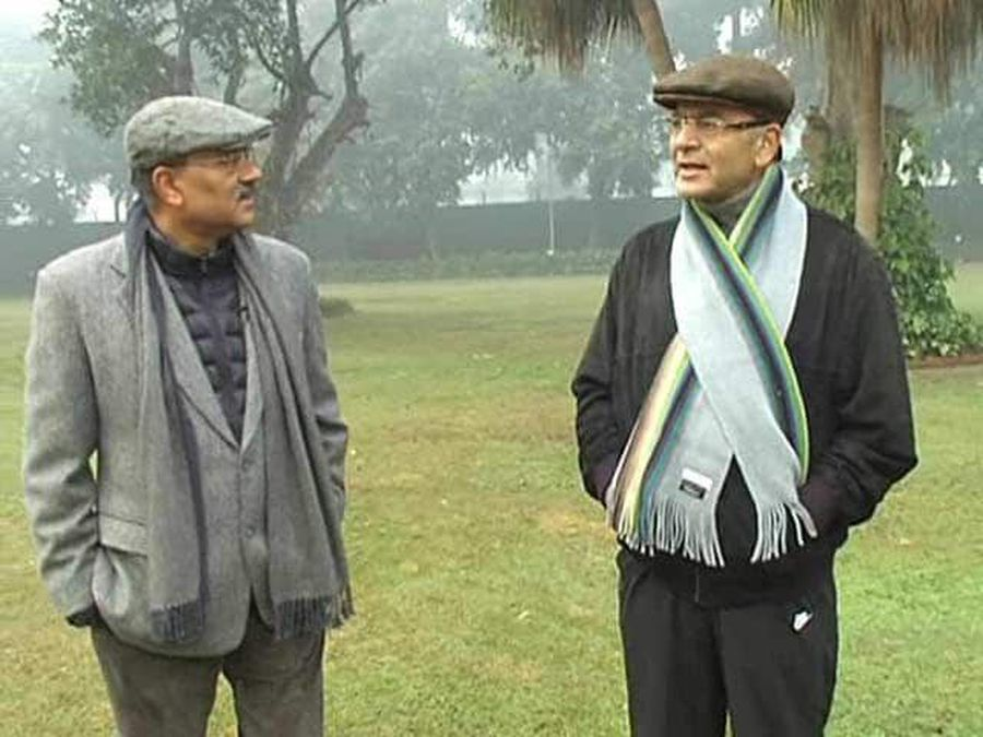 Walk The Talk With Arun Jaitley (Aired: January 2015)