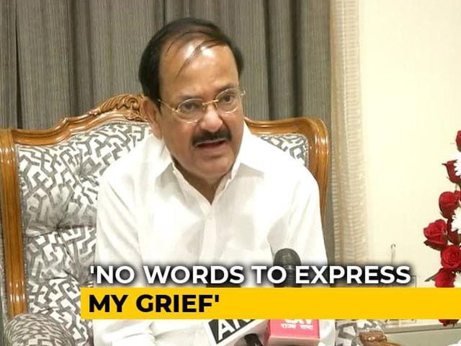"""Irreparable Loss To Nation"": Venkaiah Naidu On Arun Jaitley's Death"