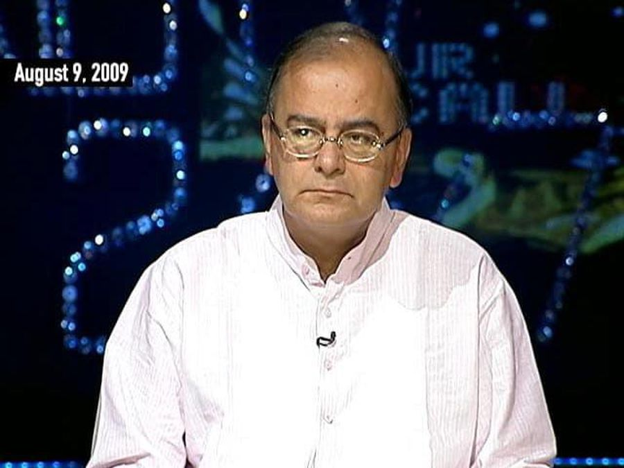 Arun Jaitley On BJP's 2009 Election Campaign (Aired: August 2009)