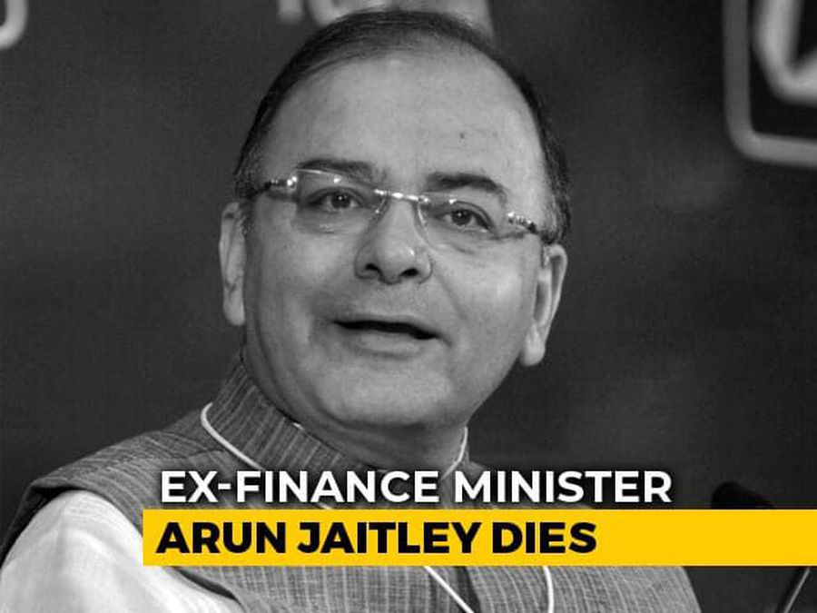 Arun Jaitley To Be Cremated Today, Leaders Pay Last Respects