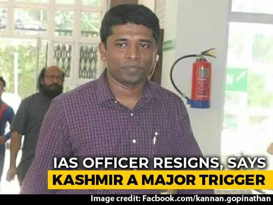 """IAS Officer Quits, Says """"Disturbed"""" Over Restrictions In J&K"""
