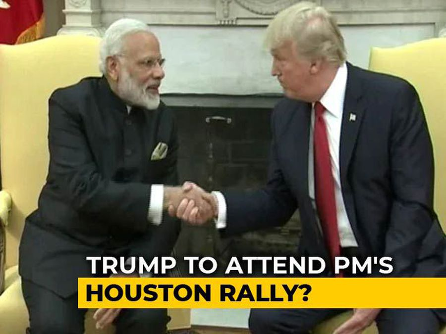 """Trump May Share Stage With PM At """"Howdy Modi"""" Event In Texas: Sources"""
