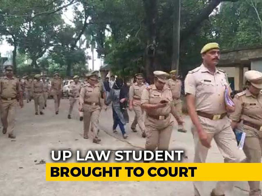 Tight Security As Woman Who Accused Chinmayanand Of Rape Brought To Court