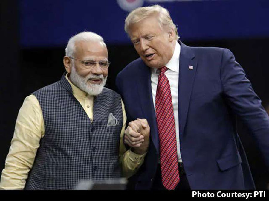 When PM Modi, Trump Walked Hand-In-Hand In A Rock Star-Like Show