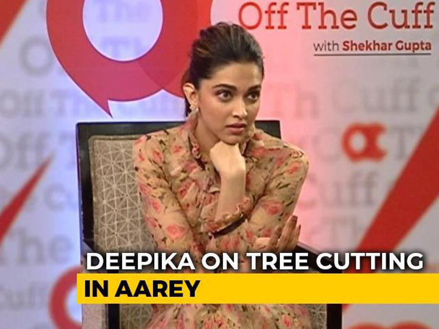 """They Lost Over 2,000 Trees"": Deepika Padukone On Mumbai's Aarey Colony"