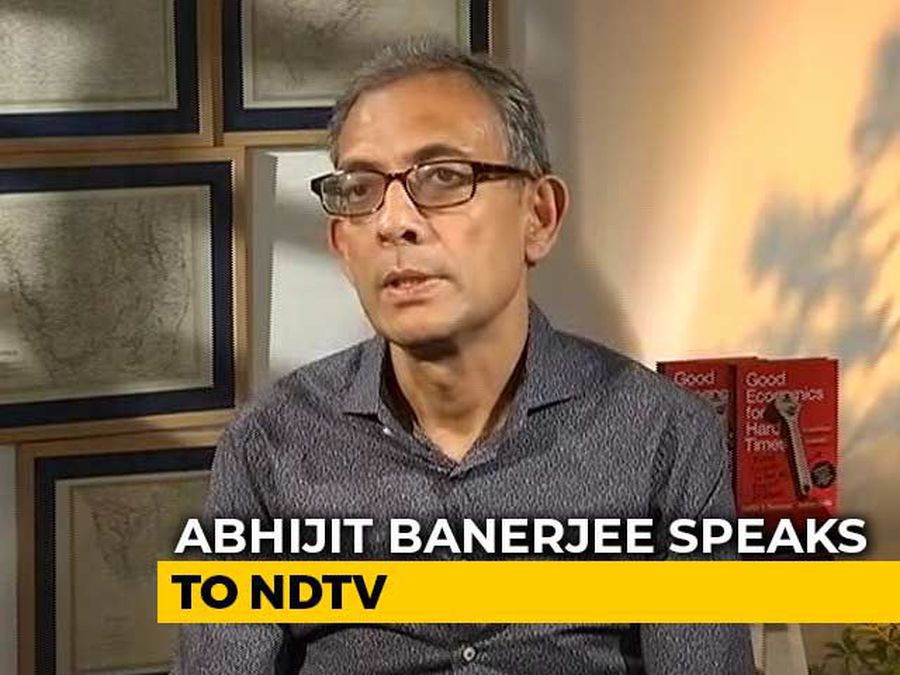 """Nirmala Sitharaman Was My Contemporary In JNU,"" Abhijit Banerjee Tells NDTV"