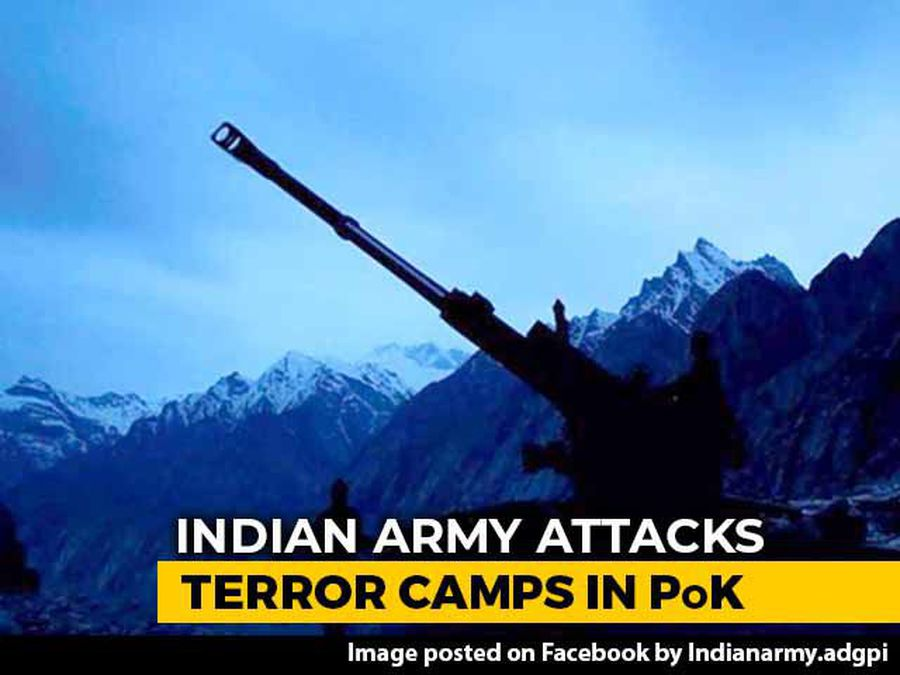 Army Attacks 4 Terror Camps In PoK With Artillery Fire: Sources