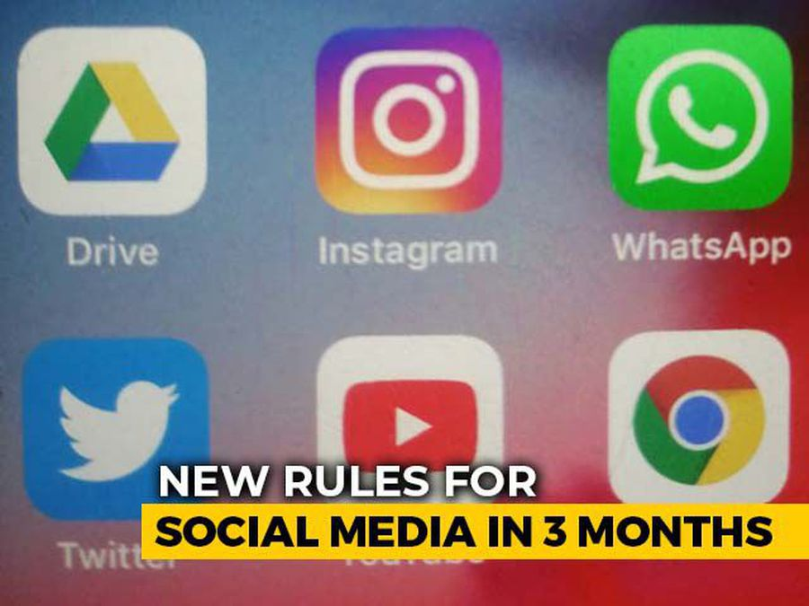 New Rules For Social Media In 3 Months, Centre Tells Supreme Court