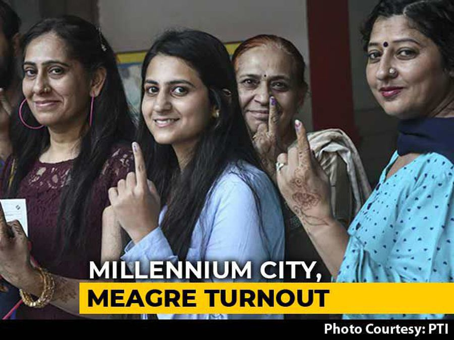 Voter Turnout In Mumbai, At 44.4%, Is Lowest Since 1989