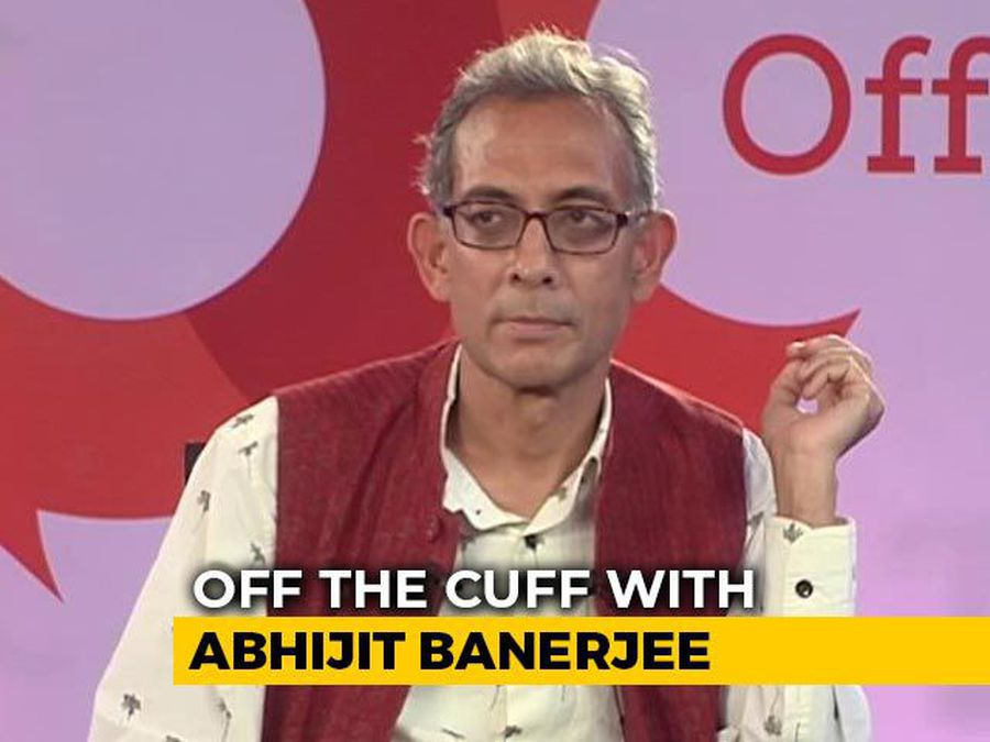 """PM Seems To Have More Faith In Corporate Sector Than I Do"": Abhijit Banerjee On 'Off The Cuff'"