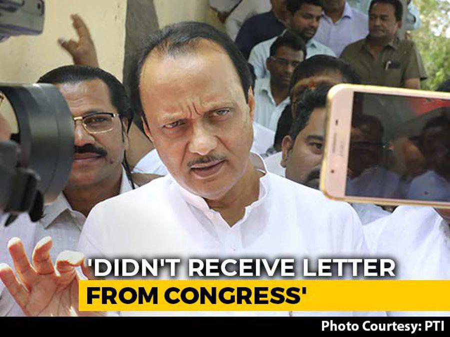 Sharad Pawar Waited 10 am To 7:30 pm For Congress Letter: Ajit Pawar