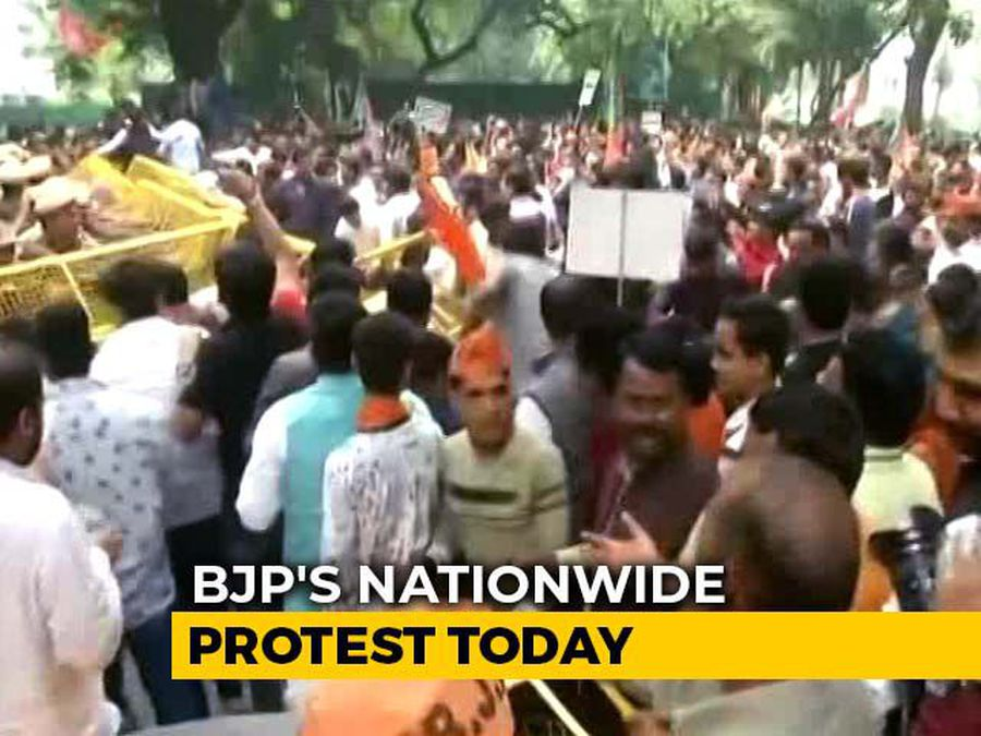 BJP To Hold Protests Today Demanding Rahul Gandhi's Apology On Rafale