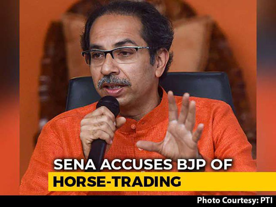 """Like Match-Fixing..."": Shiv Sena Accuses BJP Of Horse-Trading Attempts"