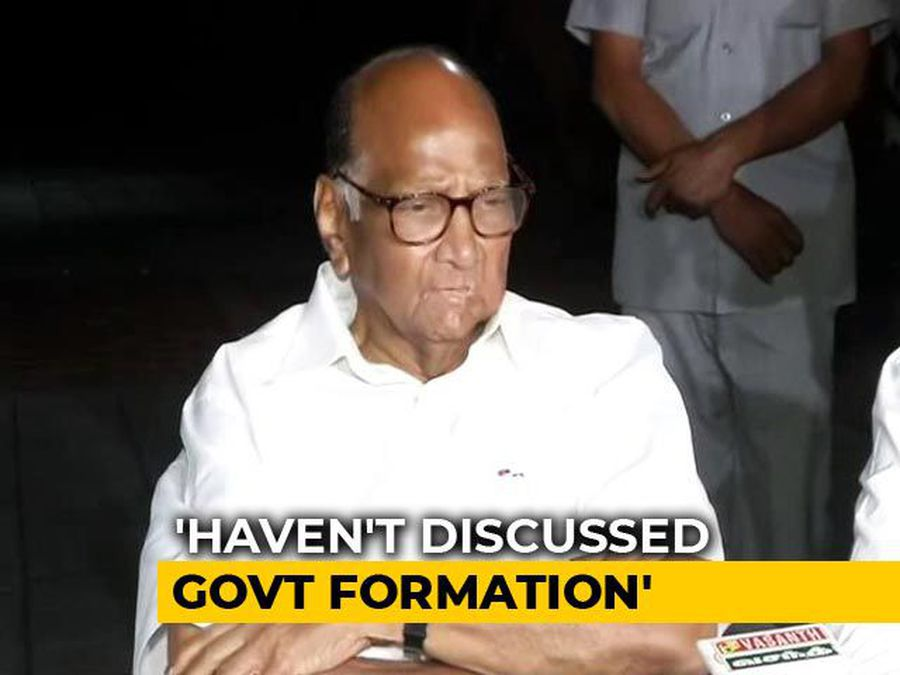 Congress-NCP Need To Discuss What To Do: Sharad Pawar