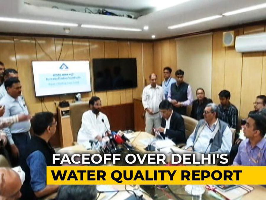 Water Quality Study: Delhi's Tap Water 'Unsafe'