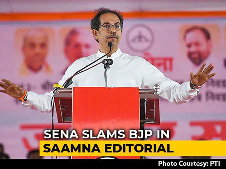 """""""No One Was Willing To Align With BJP..."""": Shiv Sena's Swipe On NDA Exit"""