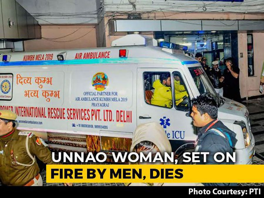 """""""They Should Be Shot"""": Unnao Woman's Father On Men Who Set Her On Fire"""