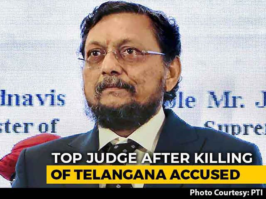 """""""Justice Can't Be Instant"""": Top Judge After Killing Of Telangana Accused"""