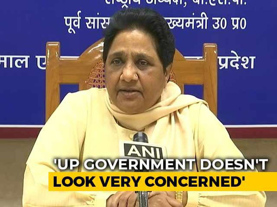 """""""UP Governor Is A Woman..."""": Mayawati Stings BJP Over Unnao Death"""