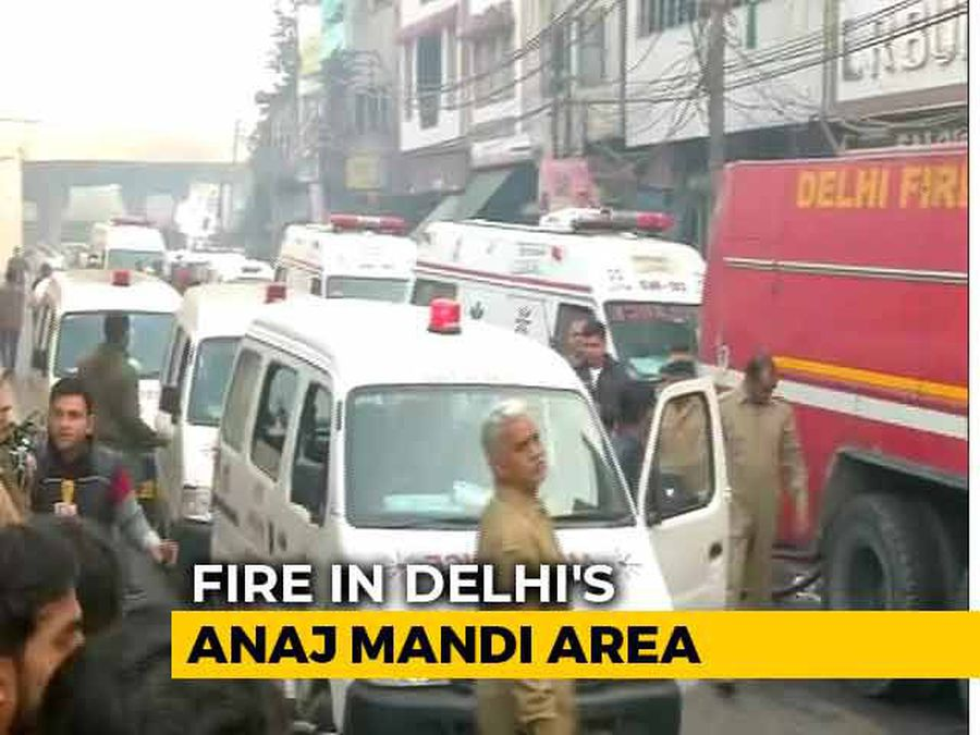 32 Dead In Fire At Factory In Delhi, 30 Fire Trucks At Site