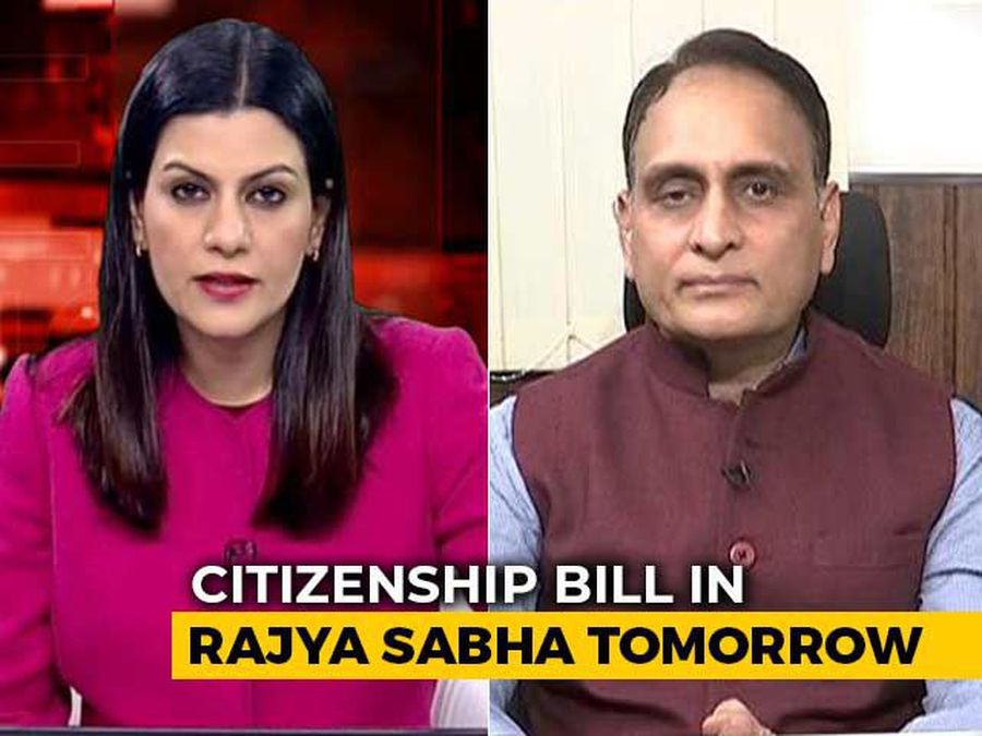 """""""Since 1947, There Has Been Systematic Genocide Of Hindus"""", BJP's Rakesh Sinha"""