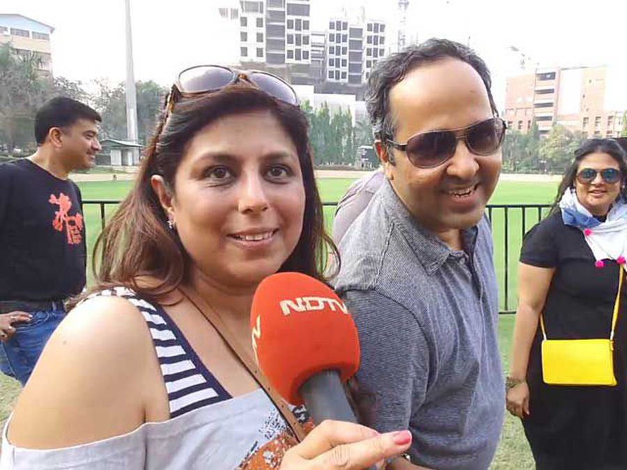 Fans At Iconic Rock Band 'U2's First-Ever India Concert