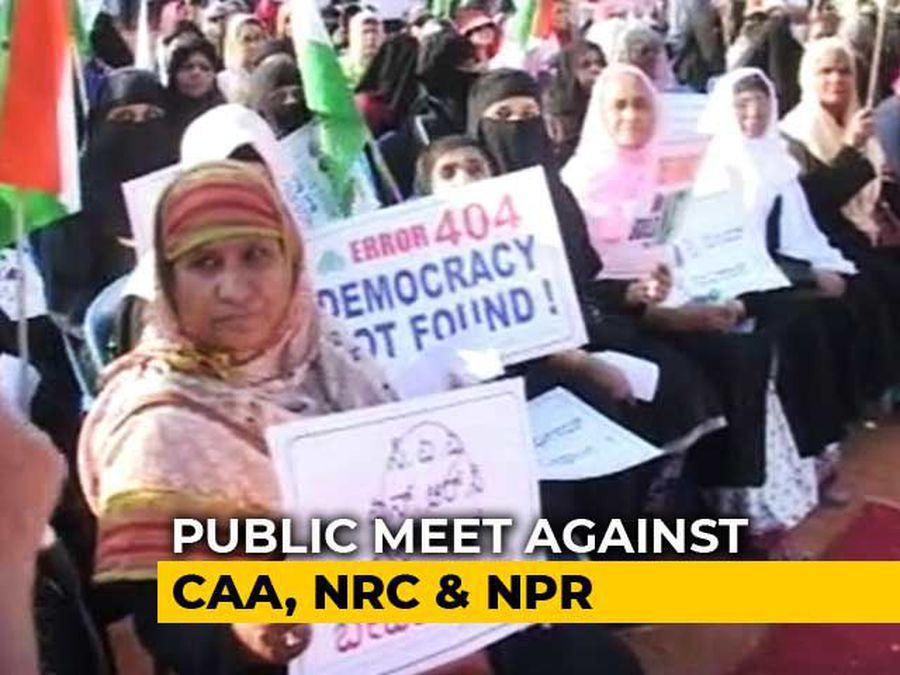 In Bengaluru, Protests Against Citizenship Law Continue